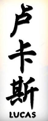Tatuajes y Punto NOMBRES EN CHINO