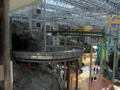 Mall of America indoor roller coaster