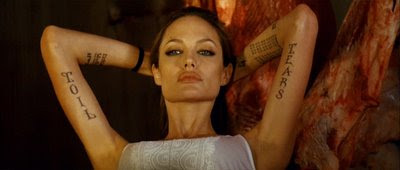 "Angelina Jolie from ""Wanted"""