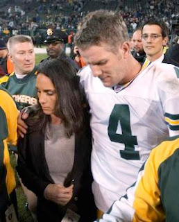 Deanna and Brett Favre