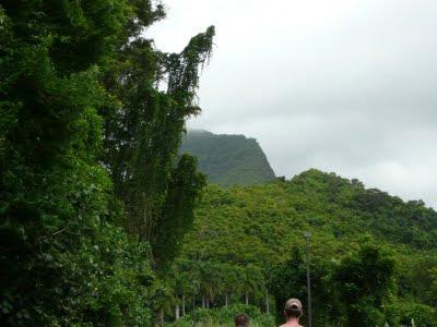 Three Peaks hike in Hawaii