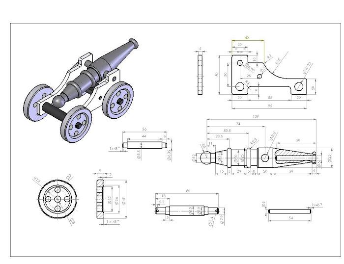Desenho final for Cad blueprints