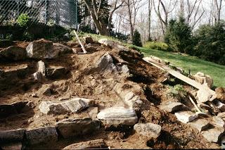 Right after rearranging the garden - Make A Rock Garden