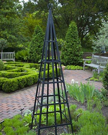 A Circular Vegetable Garden An Edible Landscape