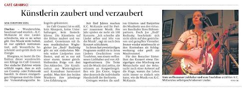 Dachauer Nachrichten Kritik K.C. McKanzie