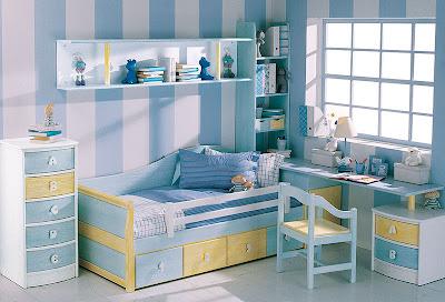 Decoracion de cuartos infantiles moda premamas - Color habitacion nino ...