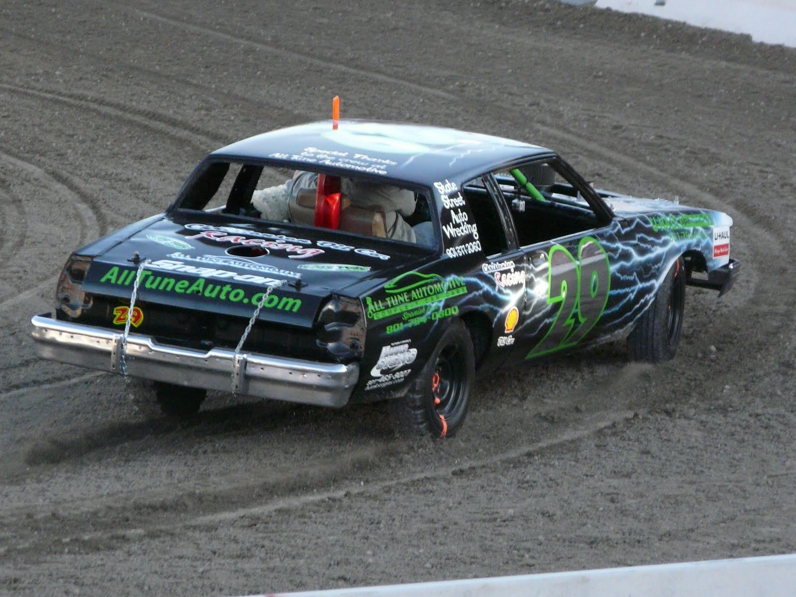 Best Demo Derby Car Paint Jobs