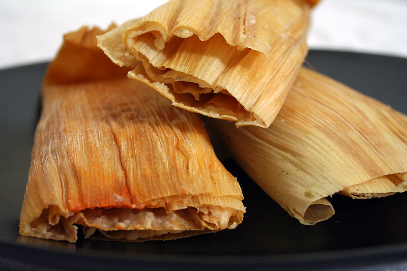 bit about tamale-making