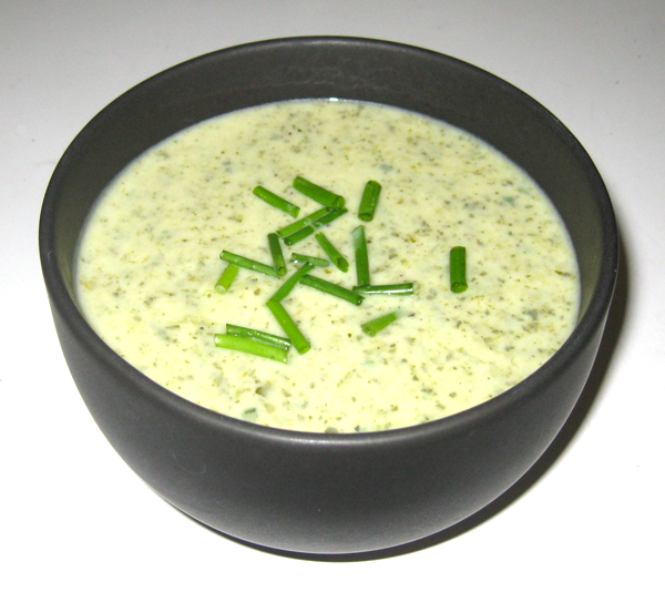 ... Cooling Off with Some Chilled Watercress Soup! (Potage Cressonnière