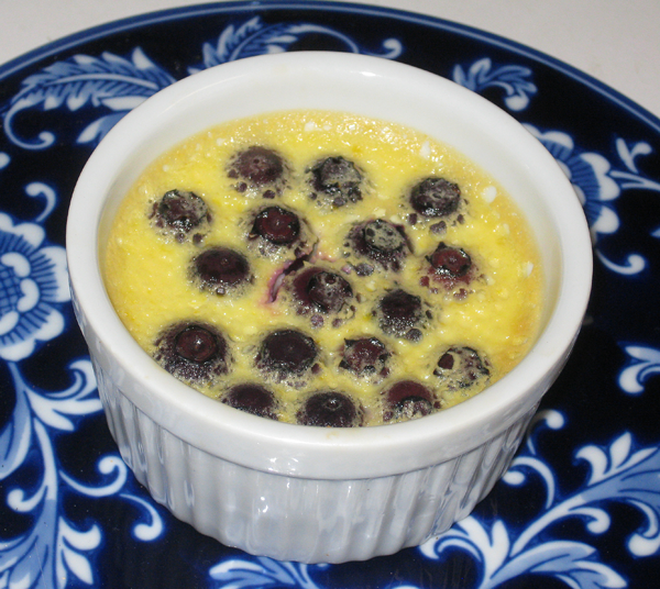 Cooking with Corey: Recipe #127: Blueberry-Lemon Pots de Crème