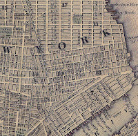 1847 LES Ward Map Section: A Geographic Tool For Locating Blog Posts