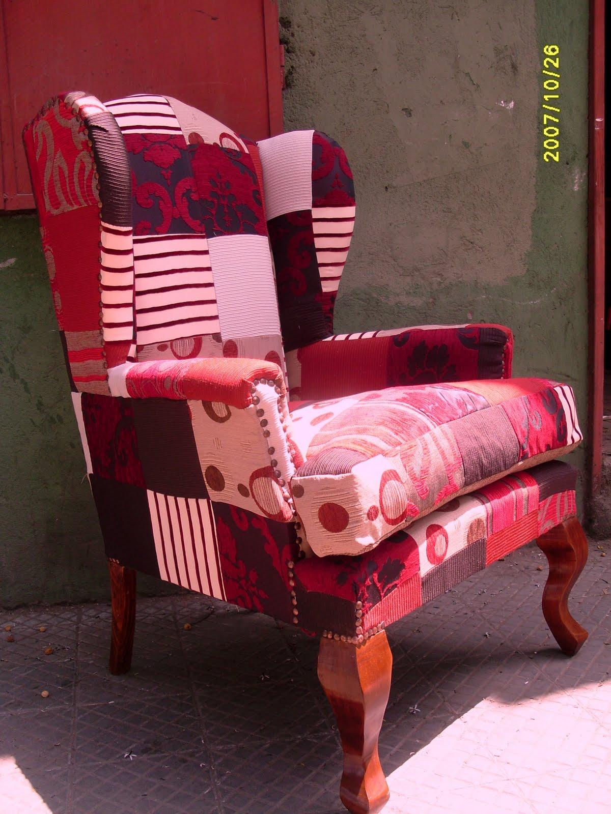 Hacemos tu sofa realidad sillones patchwork for Sillon cama chile