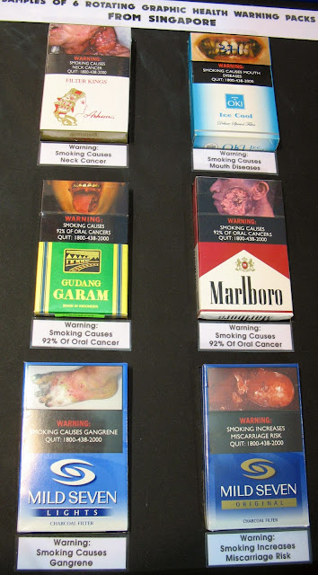 pictorial warnings on tobacco packs