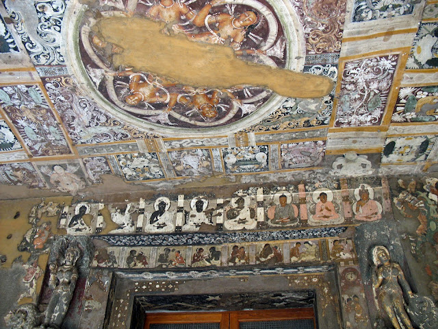 Ajanta Art on the doorway