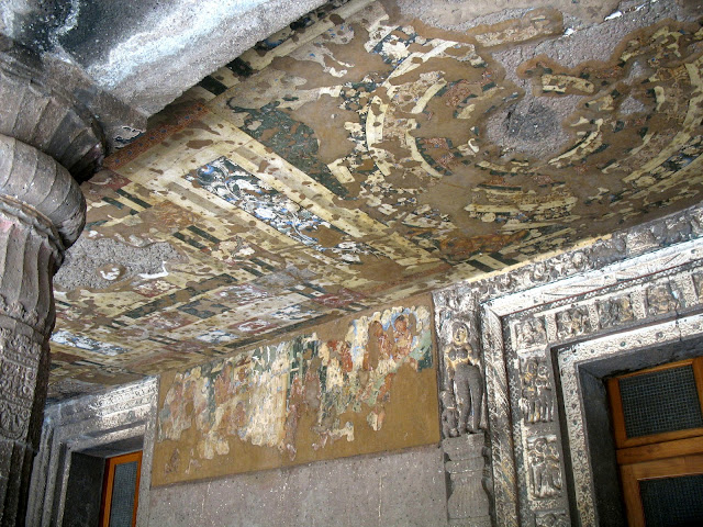 Ajanta porch painting and frescoes