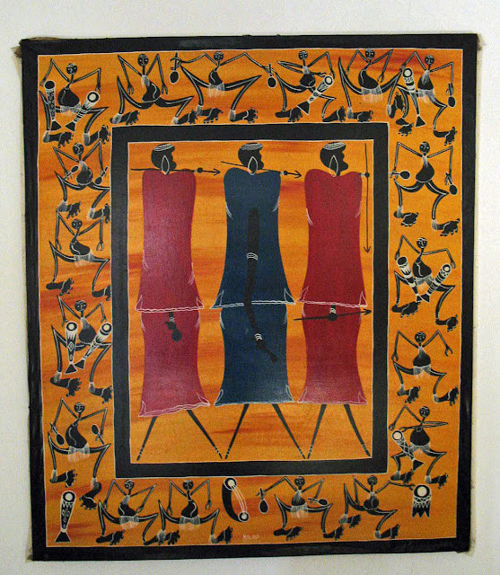 large tingatinga painting