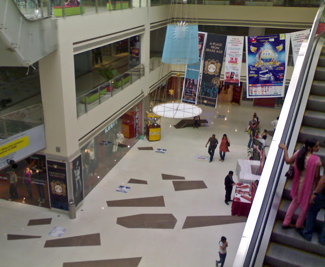 inside of Vashi mall