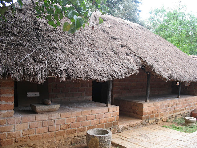 thatched hut from south india