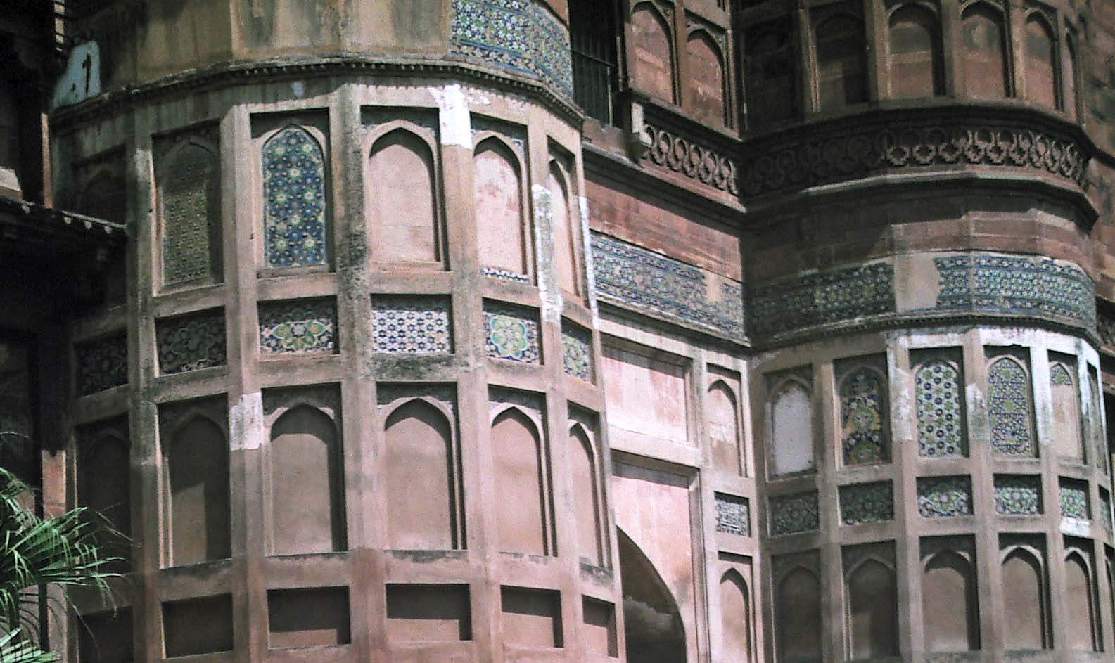 the red fort agra