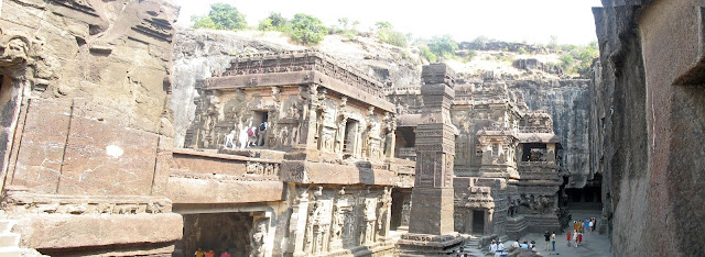 inside view of Kailashnath Temple