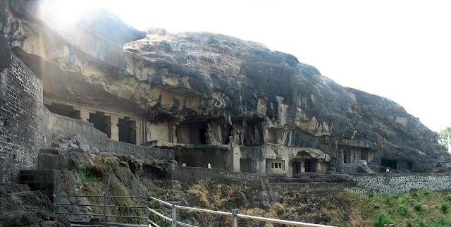 Ellora caves exterior