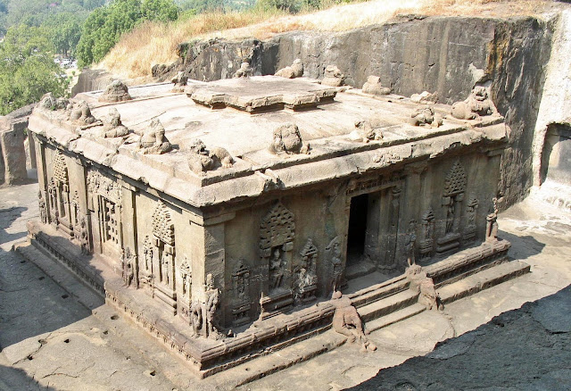 hindu temple at Ellora
