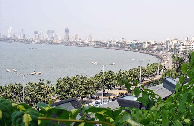 overview of Marine Drive