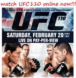 Watch UFC 110 Online