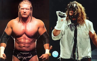 Triple H vs Cactus Jack
