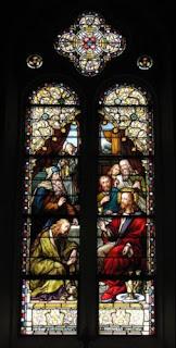 María Magdalena lava los pies de Jesús