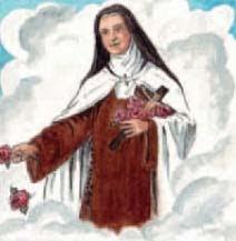 """""""Santa Teresita siempre le ofrecía pequeños sacrificios a Jesús y Él los recibía con mucho afecto.  ¡Haz tú lo mismo!"""""""
