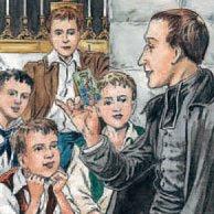A la mañana siguiente el Padre Hans contó lo sucedido a los niños del catecismo, y premió con una estampa de la Virgen a quién supo recitar de memoria un trecho del Acordaos