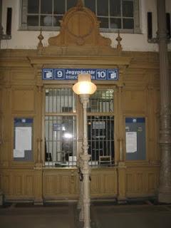 Taquilla Aegyssus Station TAQUILLA