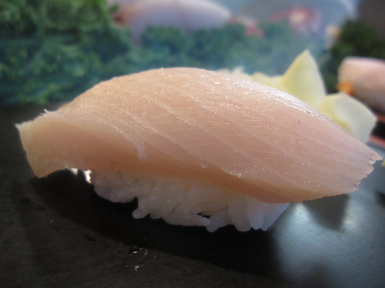 yellowtail fish sushi