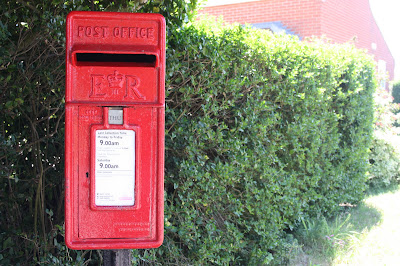 Post office or Post box.