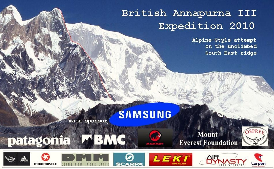British Annapurna III expedition 2010