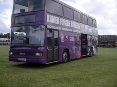 Armed forces Recruitment bus