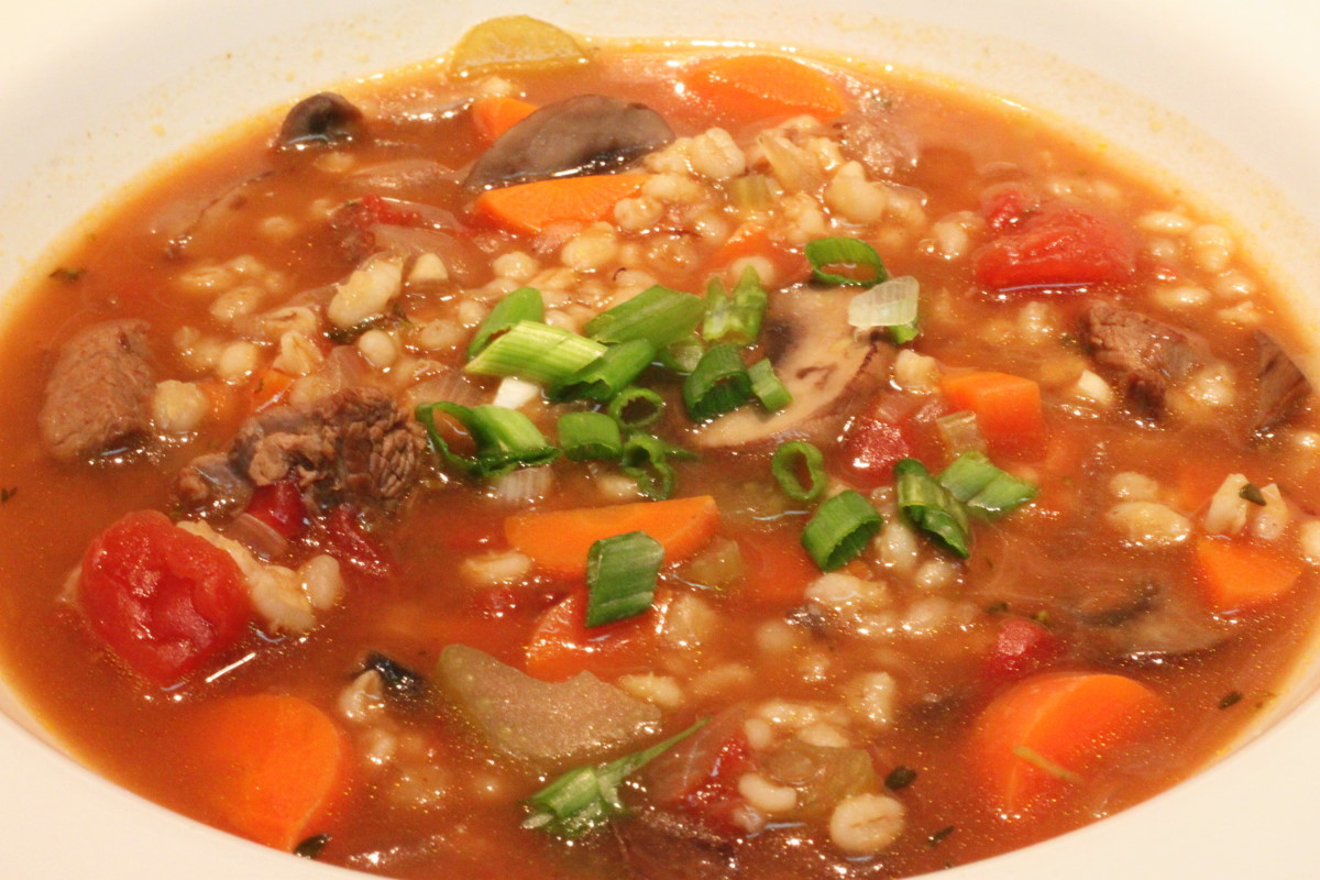 Wholesome Dinner Tonight: Beef and Barley Soup