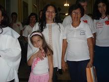 Sintego Regional de Piracanjuba na liturgia da festa da Nossa Senhora da Abadia.