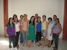 Integrantes da chapa do Sintego Regional de Piracanjuba - Gestão 2008/2011.