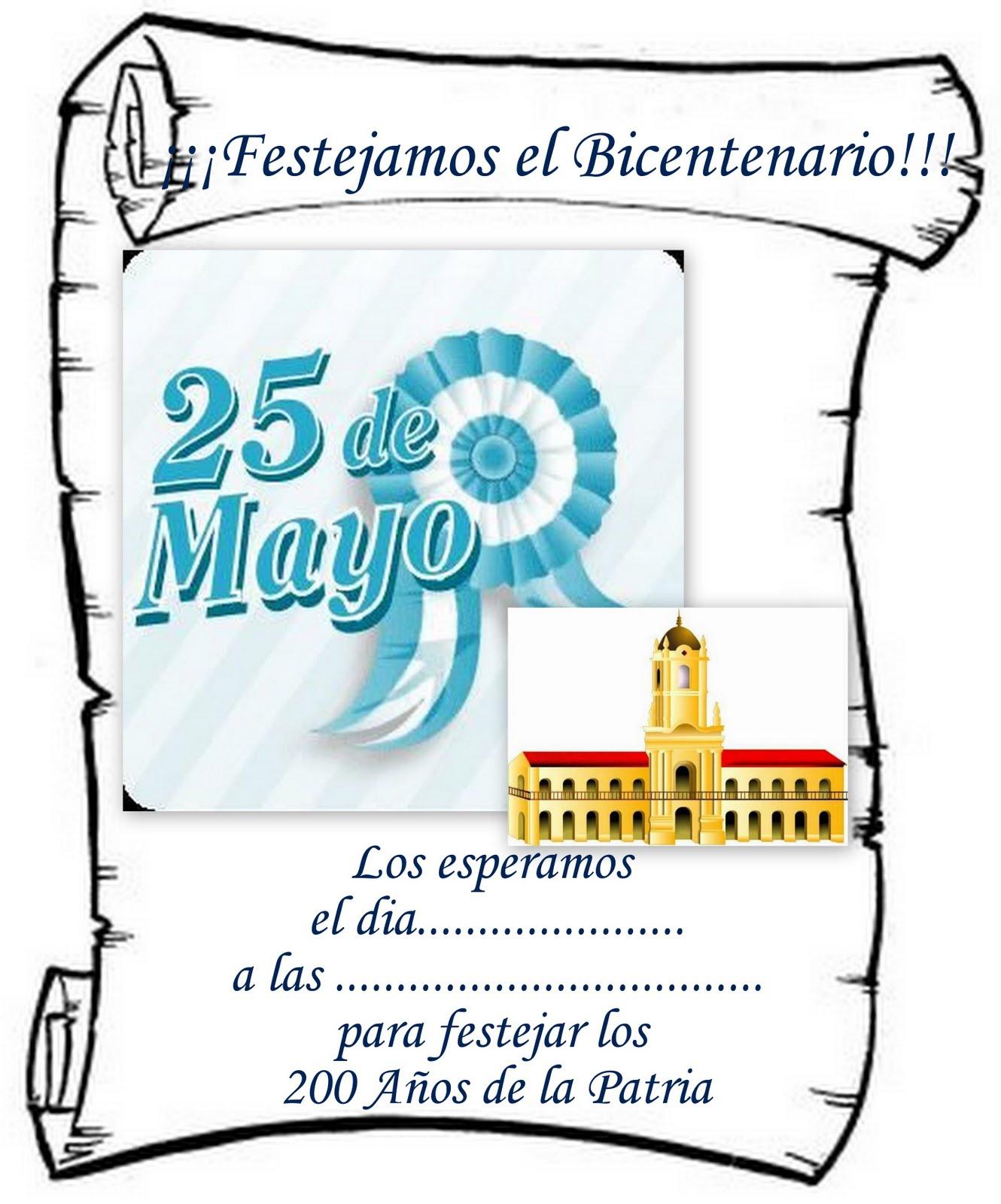 SECRETOS: Invitacion para el Bicentenario