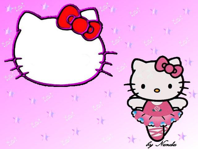 LOS SECRETOS DE KITTY: Kitty Bailarina: Imagenes, Fondos y Marcos