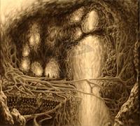 landscape fantasy art scifi science fiction