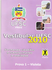PROVA UFSC 2010