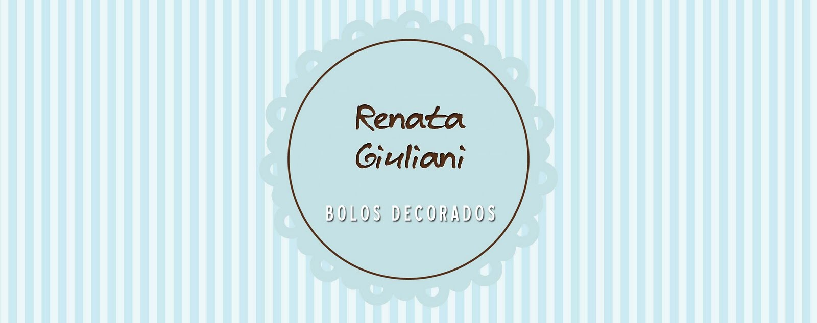 Renata Giuliani Bolos Decorados