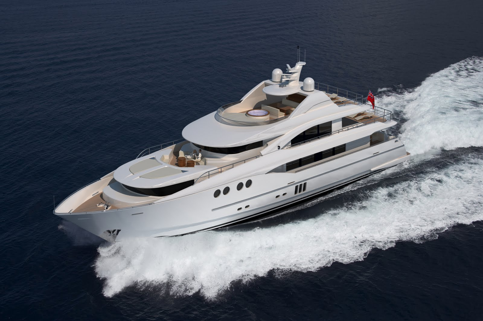Dixon Yacht Designs has unveiled its latest creation for Johnson Yachts