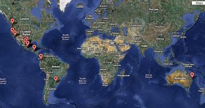 Map my followers