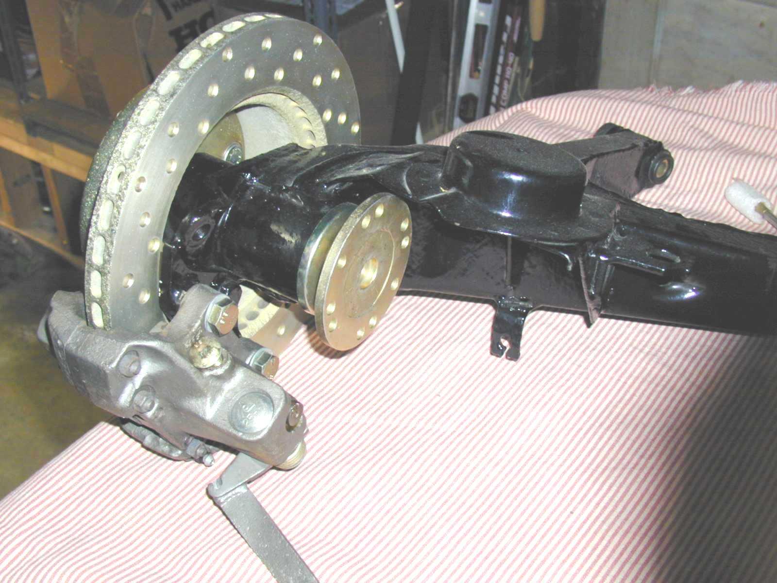 Bmw 2002 Rear Disc Brakes