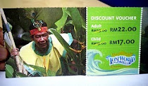 FREE VOUCHER Lost World Of Tambun!!!!