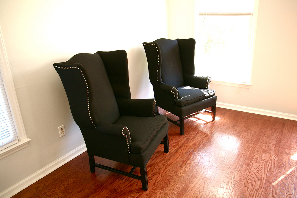 Black Velvet Chair A spot to Relax Wingback chairs